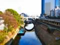 [風景写真]聖橋と御茶ノ水駅
