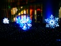 [風景写真]雪の結晶のイルミネーション