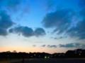 [風景写真]黄昏