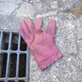 [落とし物]左手用の手袋