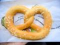 [フランス][食べ物]バニラ味のプレッツェル