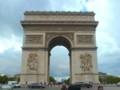 [フランス]風景写真]凱旋門