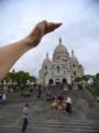 [フランス][風景写真]モンマルトルのサクレ・クール寺院