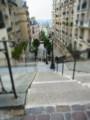 [フランス][風景写真]モンマルトルの丘の階段