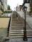 モンマルトルの丘の階段