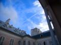 [フランス][風景写真]飛行機雲