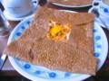 [フランス][食べ物]バスク風ガレット