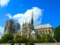 [フランス][風景写真]パリのノートルダム大聖堂