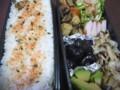 [食べ物][お弁当]2013年08月29日のお弁当