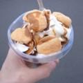 [フットボール][食べ物]信玄餅パフェ