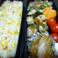 [食べ物][お弁当]2013年10月02日のお弁当