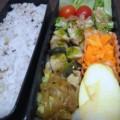 [食べ物][お弁当]2013年10月07日のお弁当