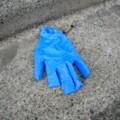 [落とし物]ビニール手袋