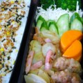 [食べ物][お弁当]2013年10月21日のお弁当