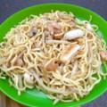 [食べ物]チョウメン(ネパール風焼きそば)