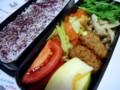 [食べ物][お弁当]2013年12月17日のお弁当