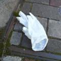 [落とし物]ビニールの手袋