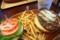 クア・アイナのハンバーガーセット