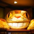 [風景写真]ネコバスのぬいぐるみ