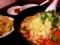 油撥刀削麺のセット