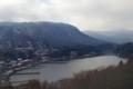 [風景写真]窓から望む芦ノ湖