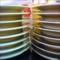 回転寿司(食後のお皿)