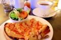 [食べ物]クリスティのコーヒーとツナトーストのセット