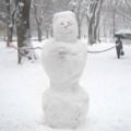 [風景写真]雪だるま