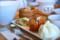 中華粥と点心の定食