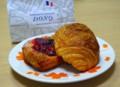 [食べ物]DONQのベリーデニッシュとパン・オ・ショコラ