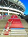 [風景写真]カシマスタジアムの階段