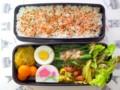 [食べ物][お弁当]2014年03月04日のお弁当