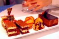 [食べ物]ビュッフェ形式のデザートの数々