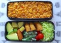 [食べ物][お弁当]2014年04月01日のお弁当