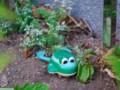 [落とし物]カエルの玩具