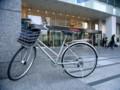 [風景写真]自転車と新宿高島屋