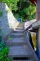 [風景写真]沖島の階段