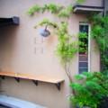 [風景写真]パン屋さんの壁