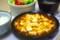 白いご飯、麻婆豆腐、サラダ、ぶなしめじの中華風スープ