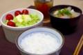 [食べ物][自炊]豚汁定食