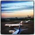 [風景写真]羽田空港の黄昏