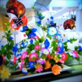 [風景写真]造花