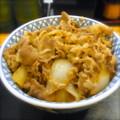 [食べ物]牛丼特盛