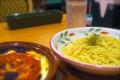 [食べ物]サイゼリヤのミラノ風ドリアとペペロンチーノ