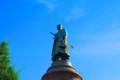 [風景写真]靖国神社(大村益次郎の銅像)