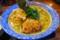 濃厚鶏魚介スープのラーメン大盛り