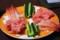 手巻き寿司(の黄瓜、なかおち、甘エビ)