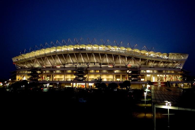 カシマスタジアムの夜景