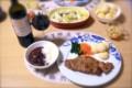 [酒][食べ物]クネ・リオハ・クリエンサとブラジル料理