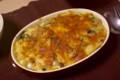[食べ物][自炊]ほうれん草や牡蠣などのグラタン